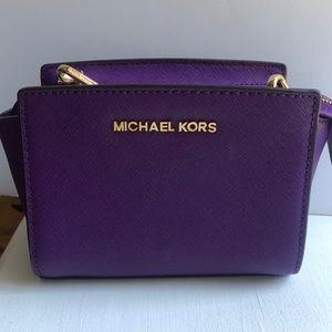 Michael Kors Crossbody Purple bag